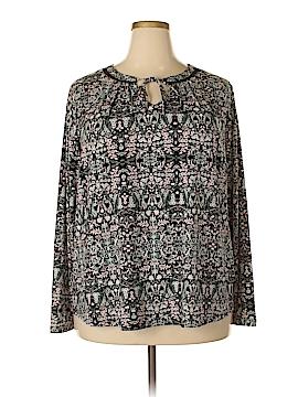 Liz Claiborne Long Sleeve Top Size 2X (Plus)