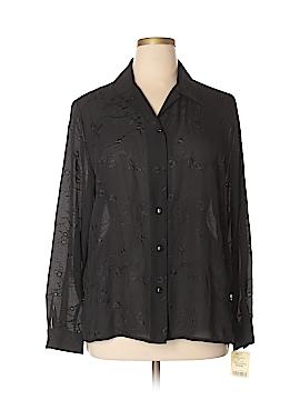 Joanna Long Sleeve Button-Down Shirt Size 1X (Plus)