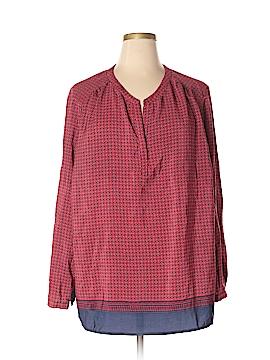 Lucy & Laurel Long Sleeve Blouse Size 3X (Plus)