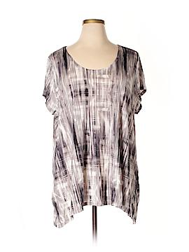 Daisy Fuentes Short Sleeve T-Shirt Size 3X (Plus)