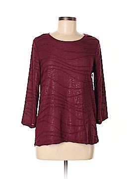 Simply Vera Vera Wang 3/4 Sleeve Top Size M