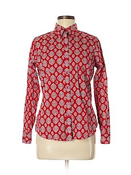 Kim Rogers Long Sleeve Button-Down Shirt Size S