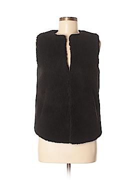 Madewell Faux Fur Vest Size XS
