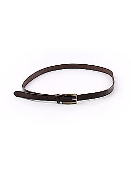 Lands' End Leather Belt 30 Waist