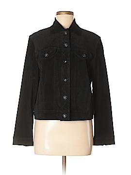 Jones New York Leather Jacket Size M