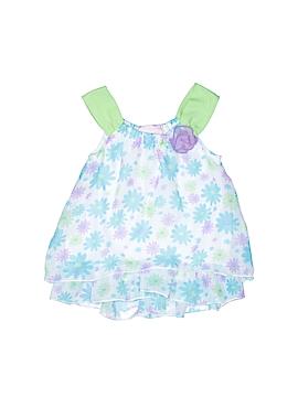Little Lass Sleeveless Blouse Size 24 mo