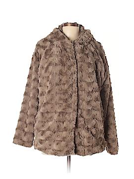 Forever 21 Faux Fur Jacket Size L