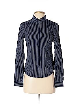 H&M L.O.G.G. Long Sleeve Button-Down Shirt Size 2