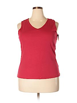 Basic Editions Sleeveless T-Shirt Size XL