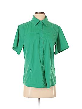 Magellan Sportswear Short Sleeve Blouse Size M
