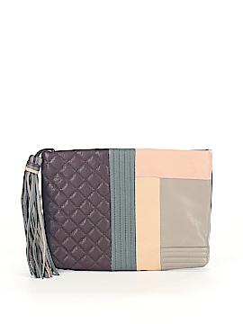 Margot Leather Clutch One Size