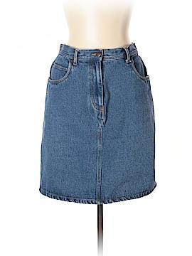 Bill Blass Jeans Denim Skirt Size 10