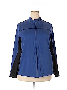 Fashion Bug Track Jacket Size 2X (Plus)