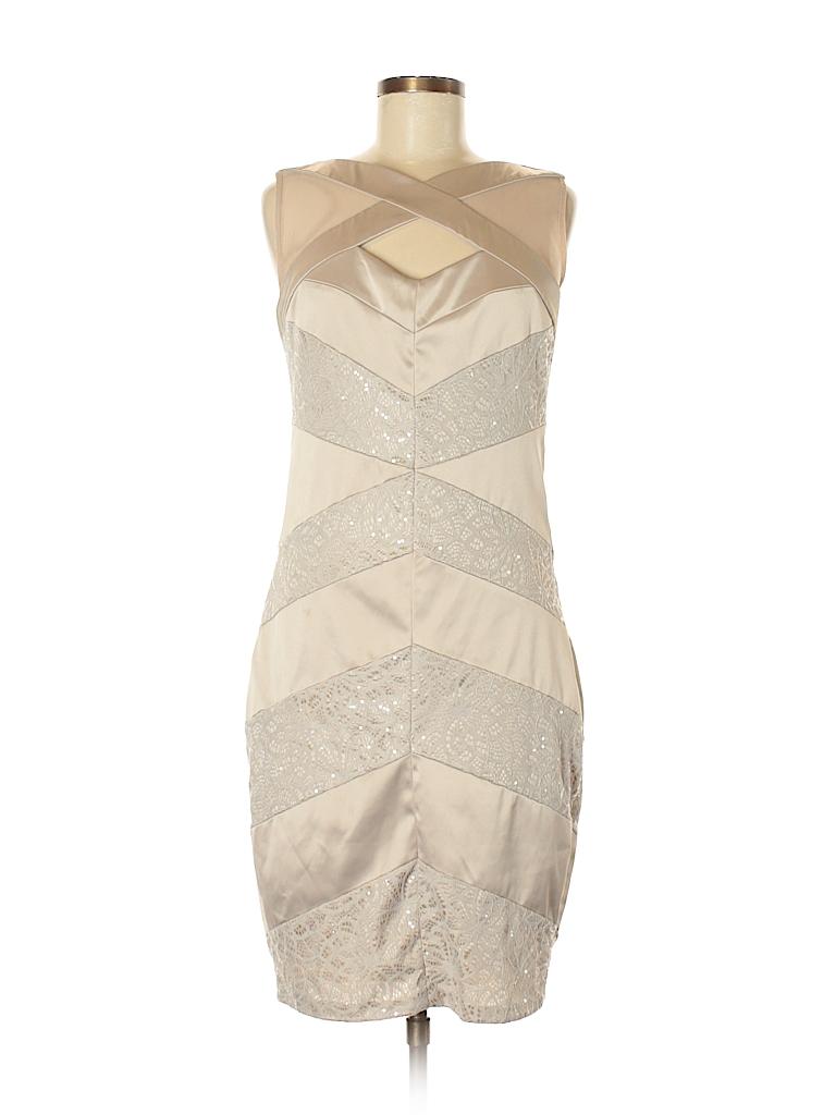 Jax Lace Tan Cocktail Dress Size 8 - 82% off   thredUP