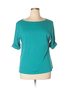 Karen Scott Short Sleeve T-Shirt Size XL