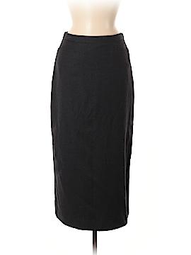 Petite Sophisticate Wool Skirt Size 8