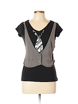 Miley Cyrus & Max Azria Short Sleeve T-Shirt Size XL