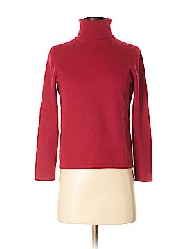 Petite Sophisticate Cashmere Pullover Sweater Size P