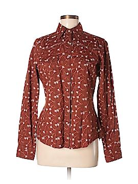 Rockies Long Sleeve Button-Down Shirt Size M
