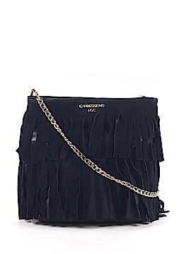 Nyc Solid Black Crossbody Bag