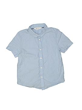 H&M Short Sleeve Button-Down Shirt Size 7 - 8