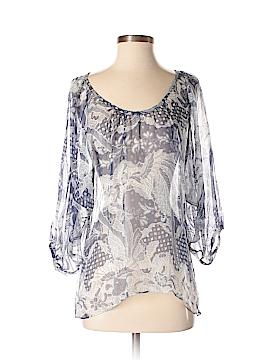 Drew 3/4 Sleeve Silk Top Size XS