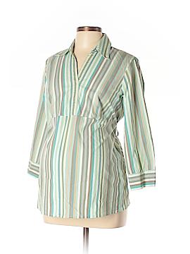 Maternity 3/4 Sleeve Blouse Size L (Maternity)