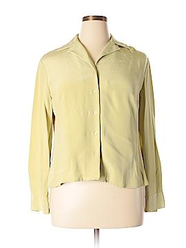Classiques Entier Long Sleeve Silk Top Size 16