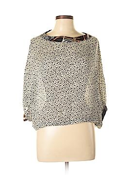 Rozae R.N. Short Sleeve Silk Top Size M