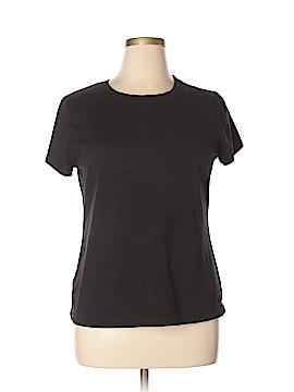 Danskin Short Sleeve T-Shirt Size 1X (Plus)