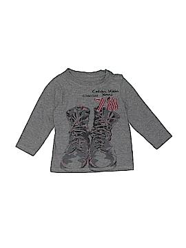 CALVIN KLEIN JEANS Long Sleeve T-Shirt Size 18 mo