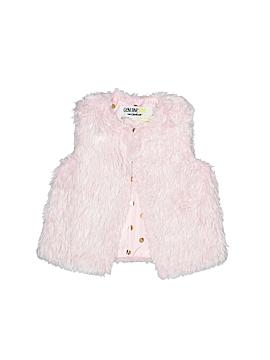 Genuine Kids from Oshkosh Faux Fur Vest Size 12-18 mo