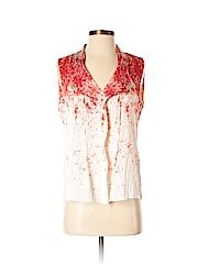 Elie Tahari for Nordstrom Sleeveless Silk Top