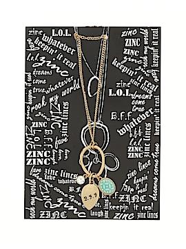Zinc Necklace One Size