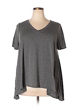 Mudd Short Sleeve Top Size 1X (Plus)