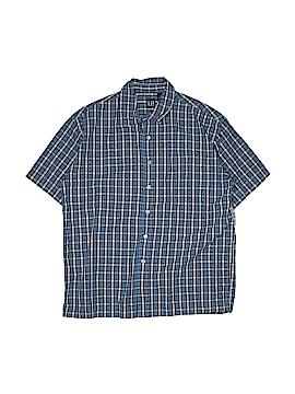 Gap Short Sleeve Button-Down Shirt Size 12