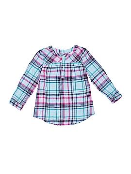 Jumping Beans Long Sleeve Button-Down Shirt Size 4T