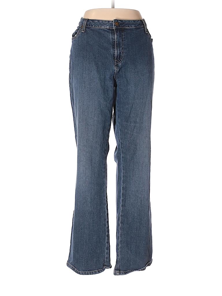 St. John's Bay Women Jeans Size 18 (Plus)