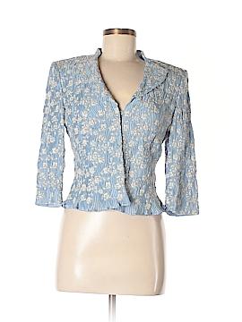 RENA LANGE Silk Blazer Size 8