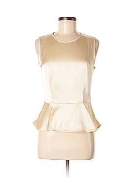 Magaschoni Sleeveless Silk Top Size 6