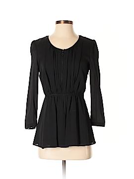 Burberry 3/4 Sleeve Silk Top Size 4