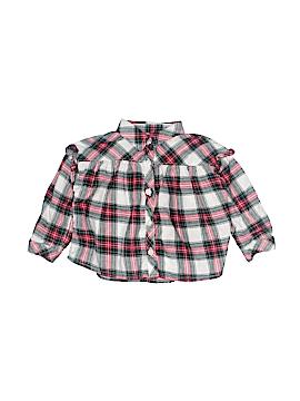Baby Gap Long Sleeve Button-Down Shirt Size 12-18 mo