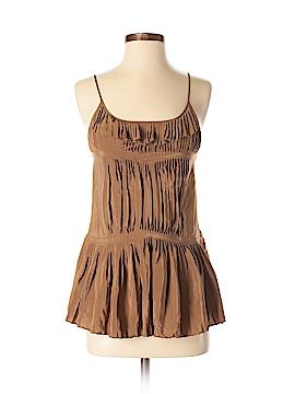 Broadway & Broome Sleeveless Silk Top Size XS