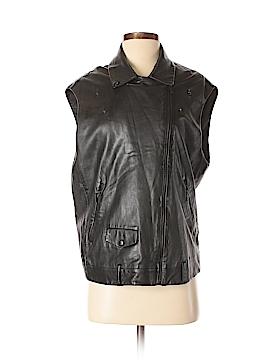 Sandro Leather Jacket Size Sm (1)