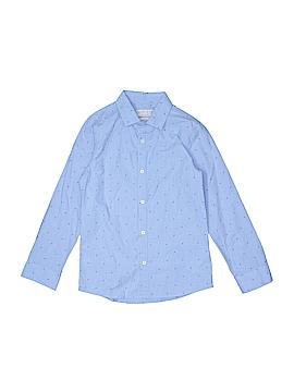 Zara Long Sleeve Button-Down Shirt Size 9/10