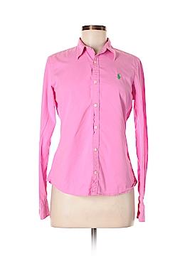 Ralph Lauren Blue Label Long Sleeve Button-Down Shirt Size 8