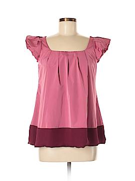 Thakoon Short Sleeve Blouse Size 6