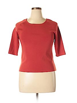 Classiques Entier 3/4 Sleeve Silk Top Size XL
