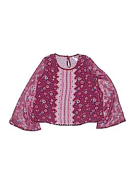 Xhilaration Long Sleeve Blouse Size 7