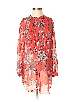 Leifsdottir Long Sleeve Silk Top Size 2